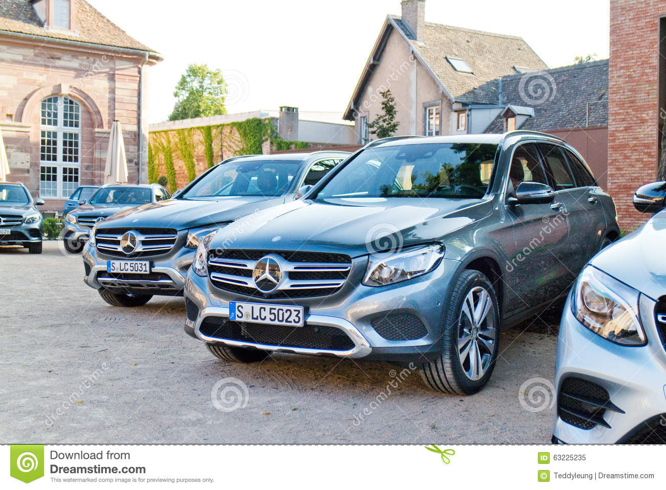 Mercedes-Benz All New GLC SUV 2015 Test Drive Day Editorial