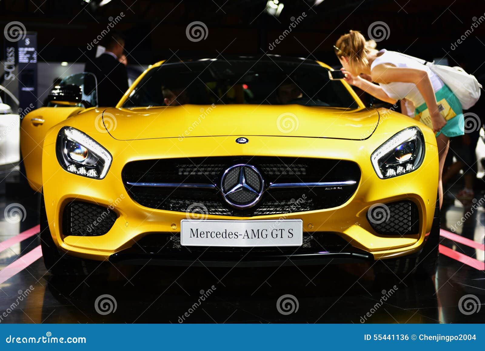 Mercedes Benz AMG GT S