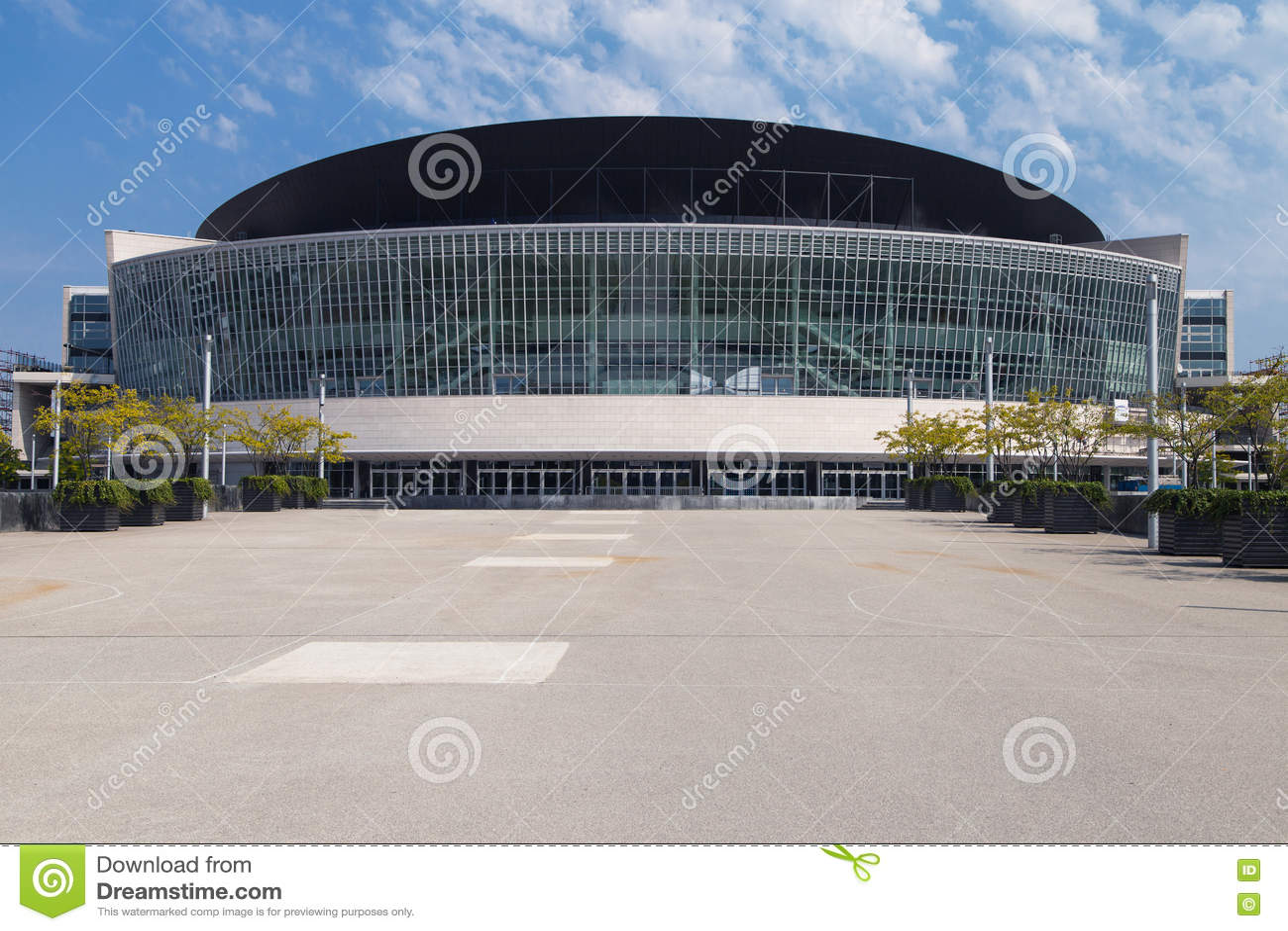 Mercedes Benz Arena Editorial Image Image Of Kuban Arena