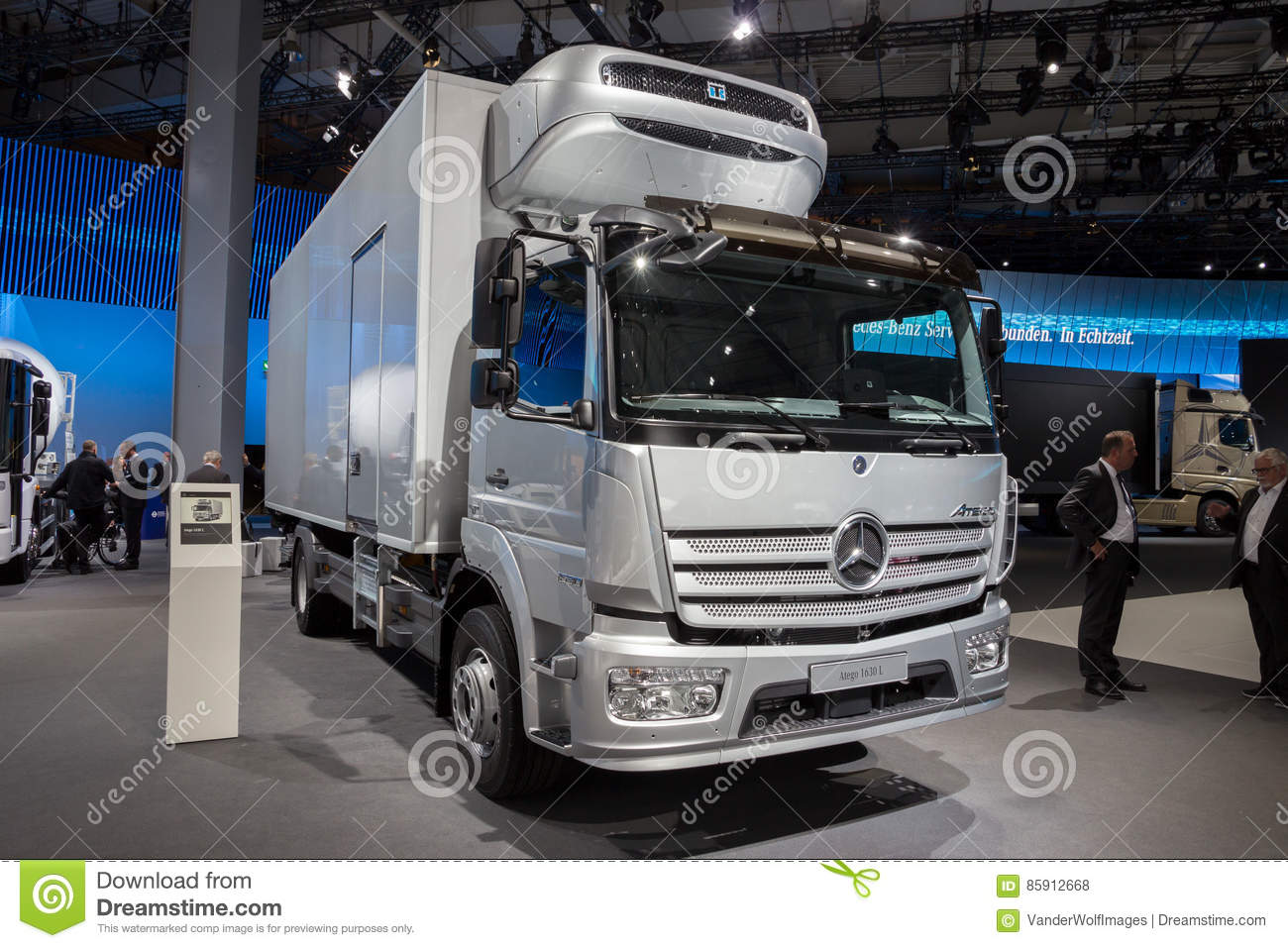 2017 mercedes benz atego 1630 l truck editorial stock for Commercial motor used trucks