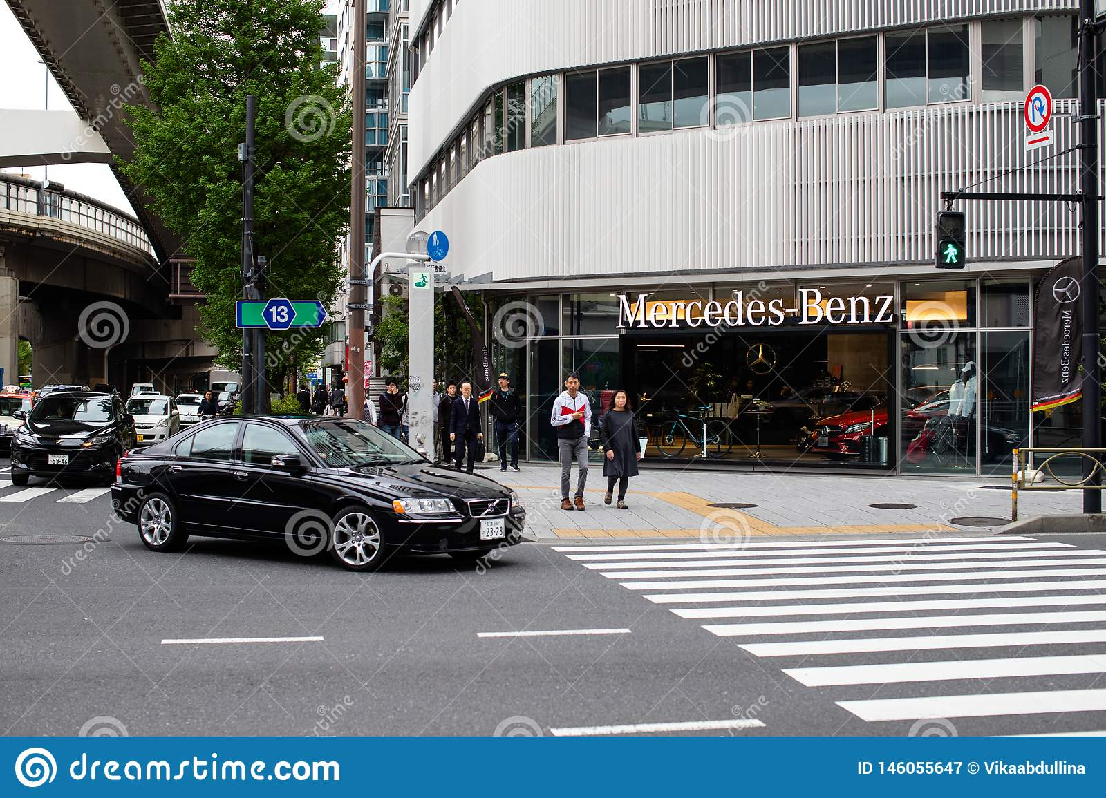 Mercedes benz building - germany car store