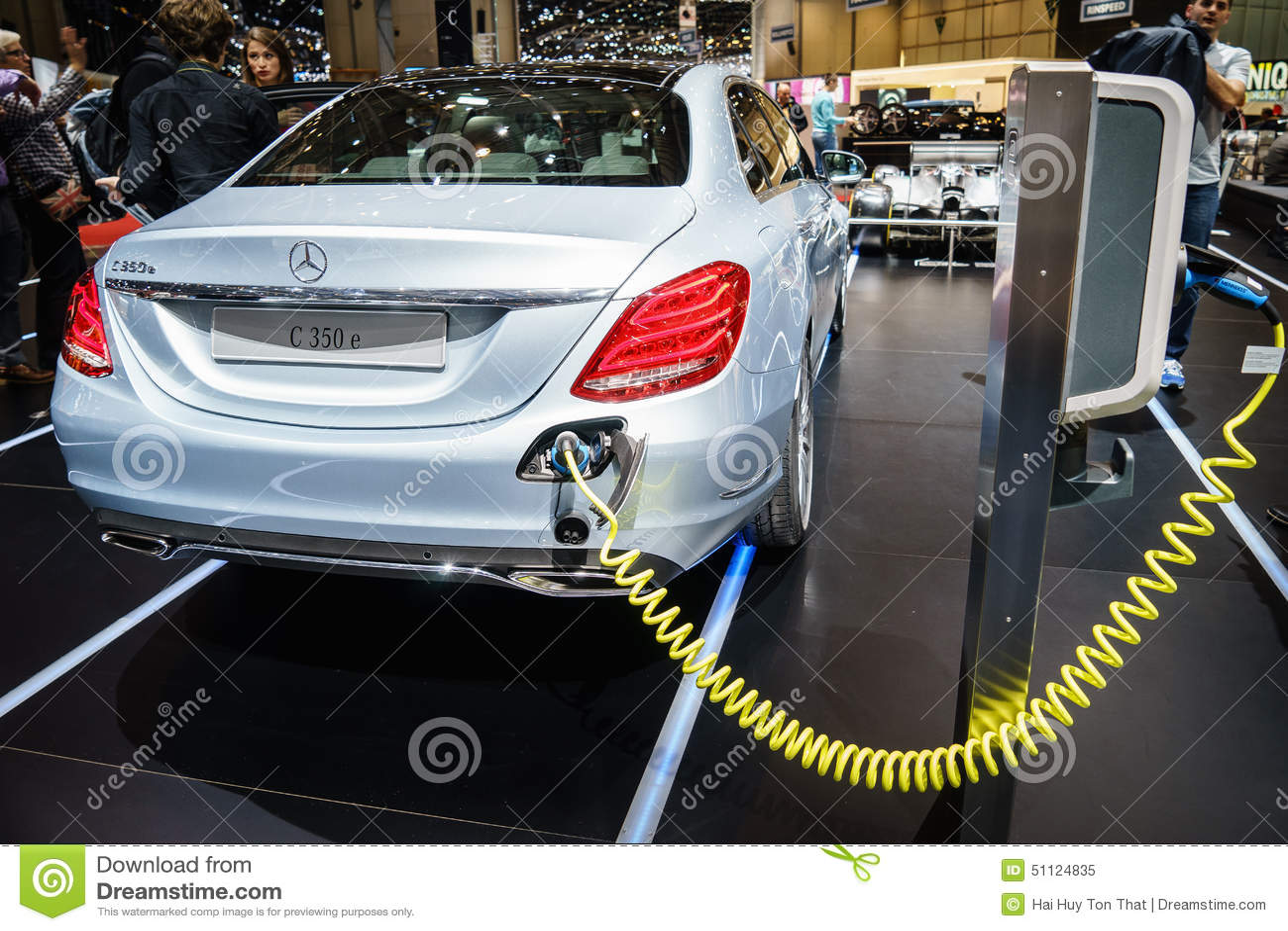 Mercedes Benz C350e Plug In Hybrid Motor Show Geneve 2015