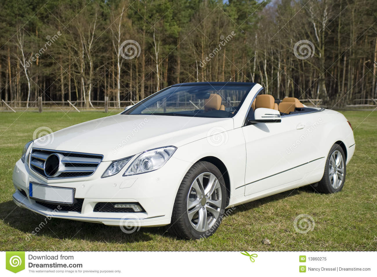 Expensive Car For Sale Or Gift Royalty Free Stock Image: Mercedes Benz Cabriolet Royalty Free Stock Photo