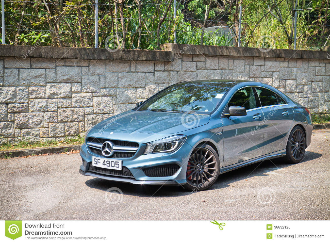 All Types 2013 mercedes cla : Mercedes-Benz CLA 45 AMG 4MATIC 2013 Model Editorial Photo - Image ...