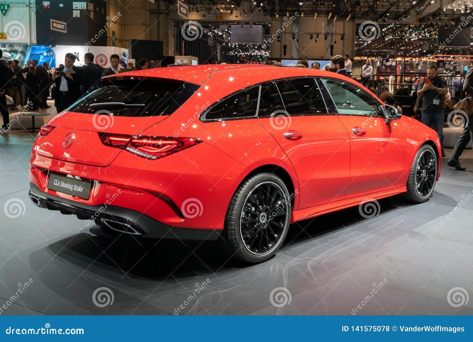 Cla Shooting Brake >> Mercedes Benz Cla Shooting Brake Car Editorial Stock Photo