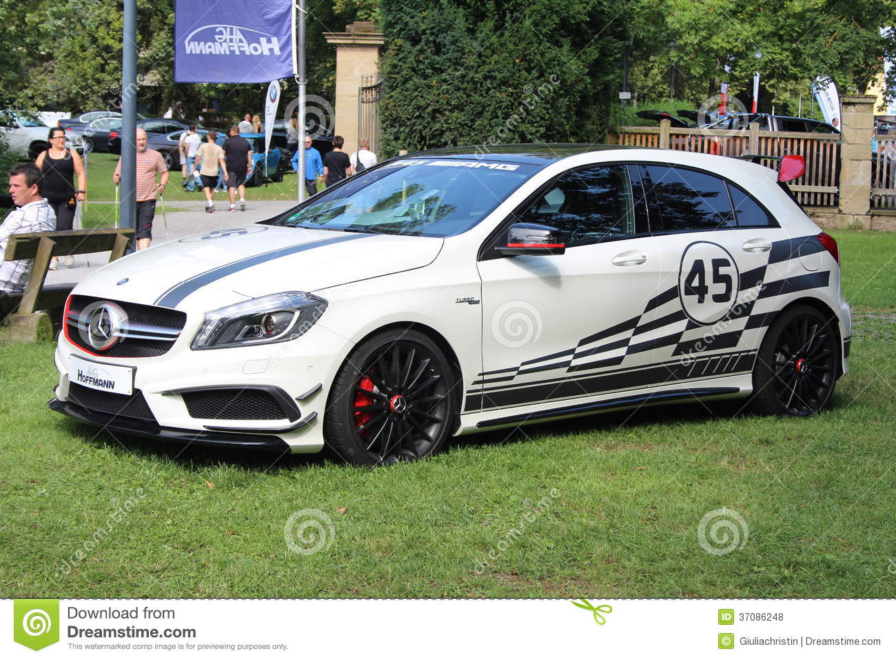 Mercedes Benz A Class Amg 45 Editorial Stock Photo Image