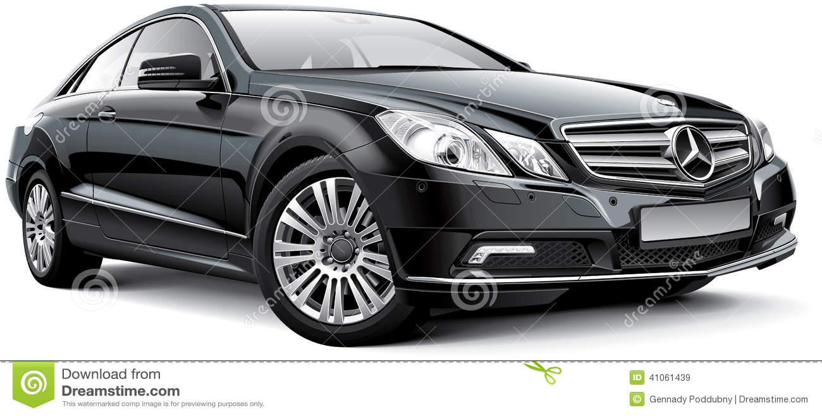 Mercedes Benz E Class W212 Coupe Editorial Stock Image