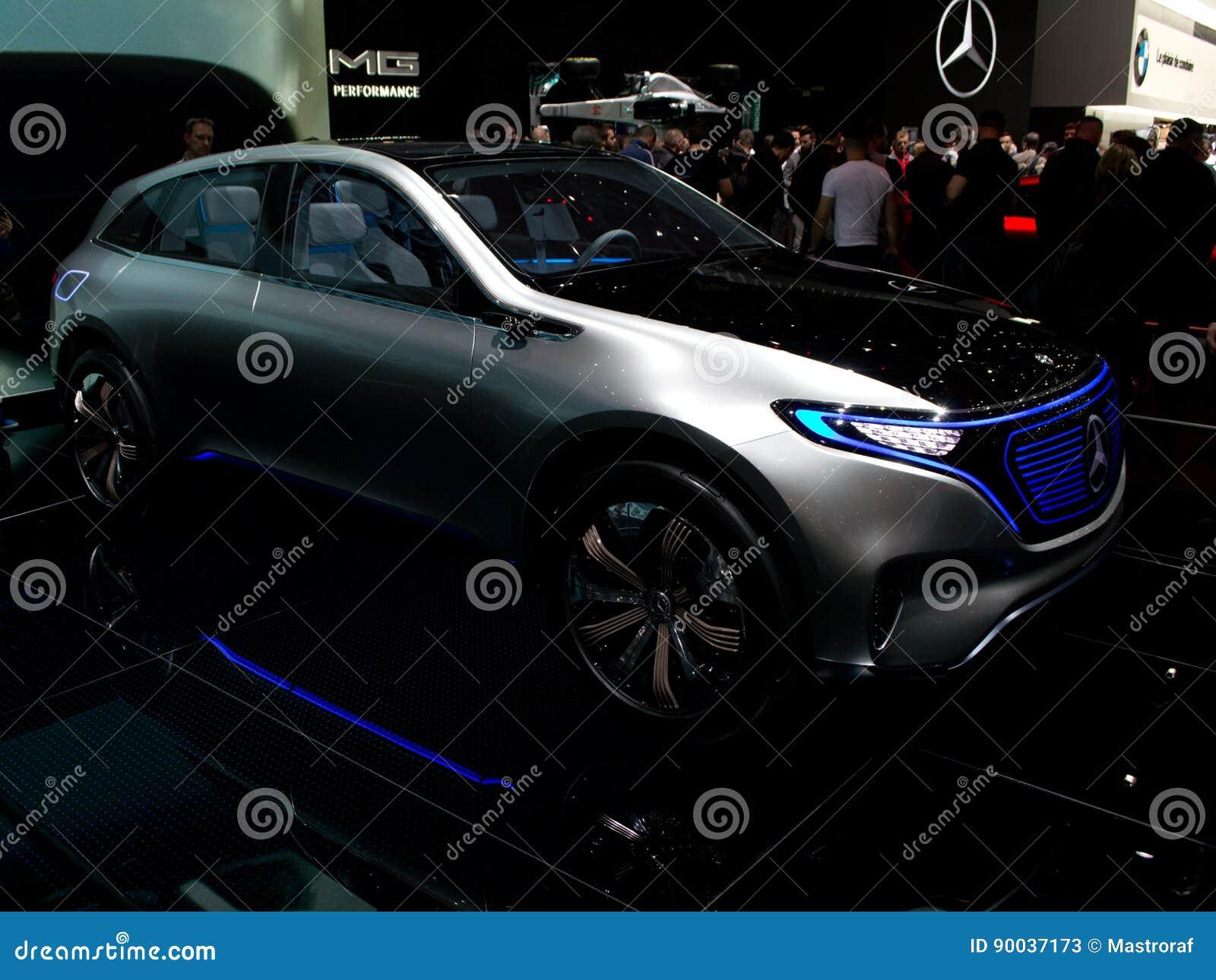 Mercedes Benz EQ a Ginevra 2017
