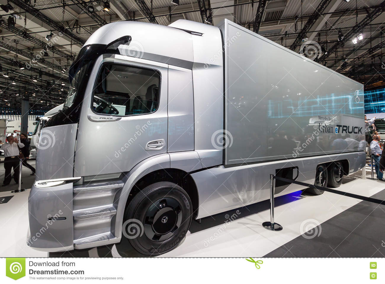 23e27aed85 Mercedes Benz eTRUCK editorial stock image. Image of fair - 77973949