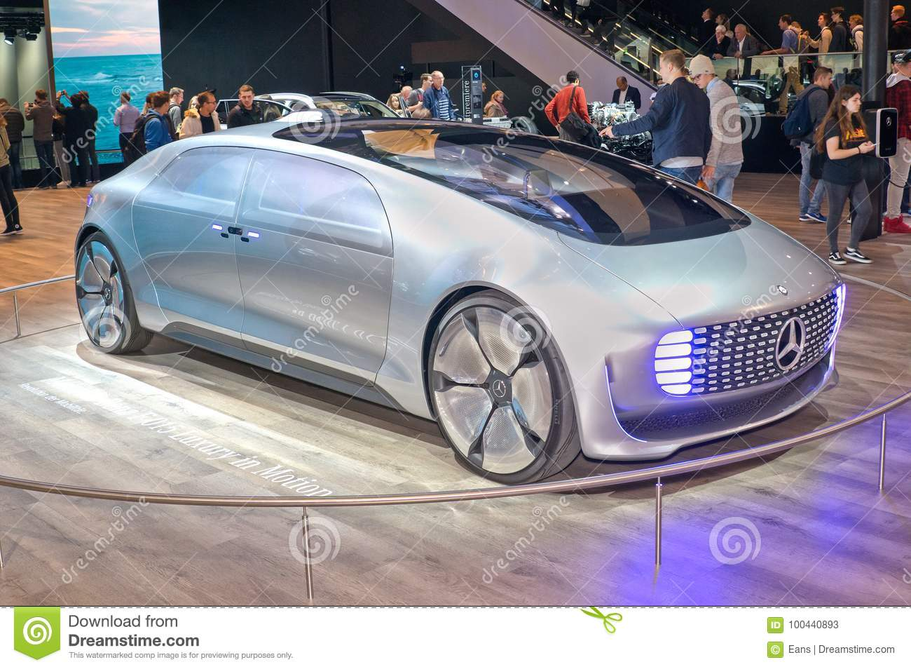 Mercedes Benz F015 Luxury In Motion Concept Car Editorial Stock