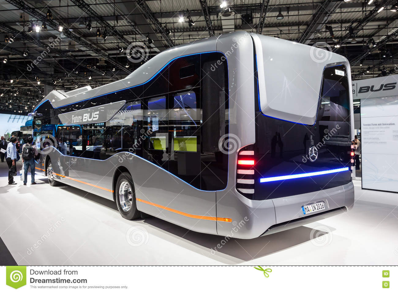 74da0901ce Mercedes Benz Future Bus editorial stock photo. Image of business ...