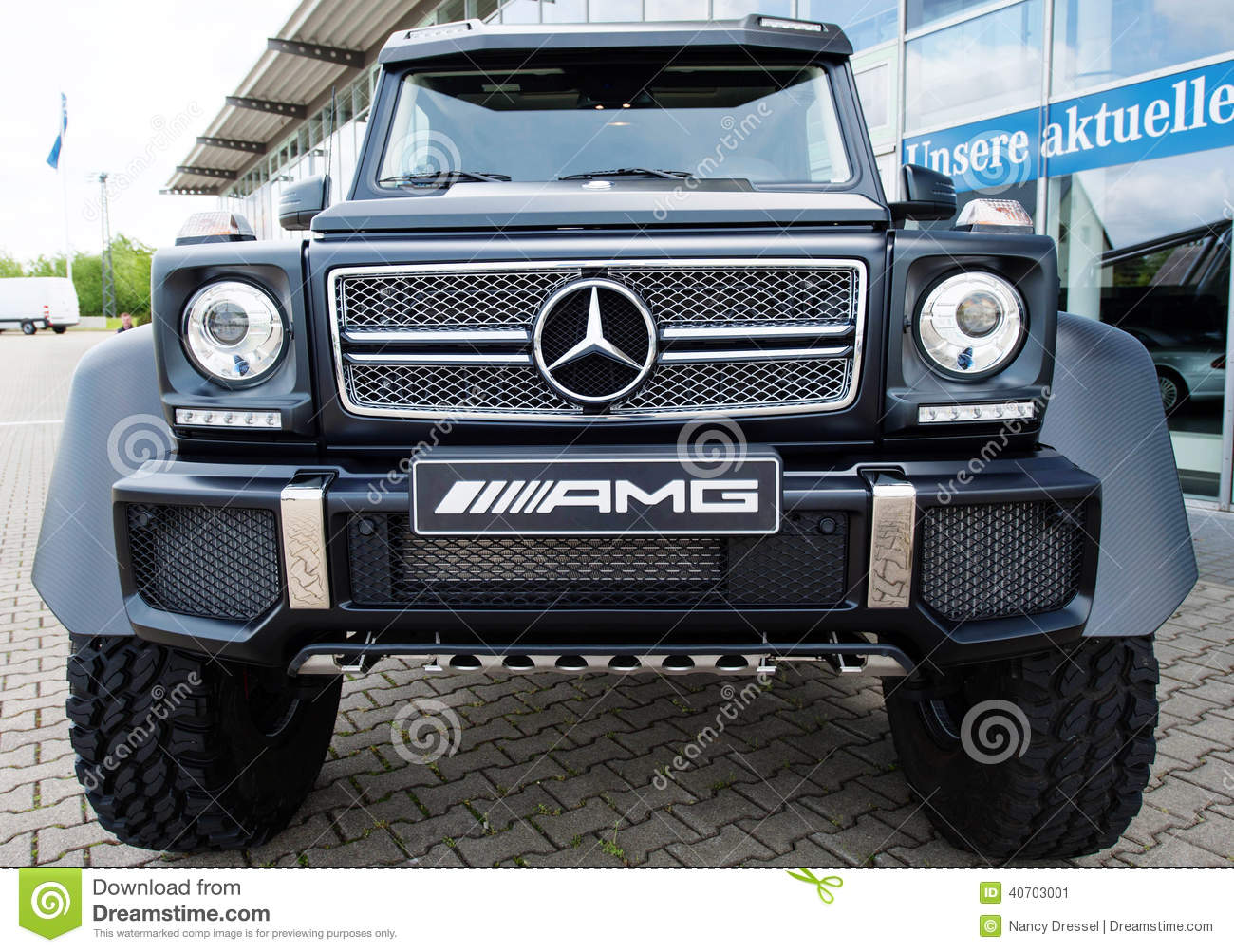 Mercedes Benz G Class Amg Frontview Editorial Photo