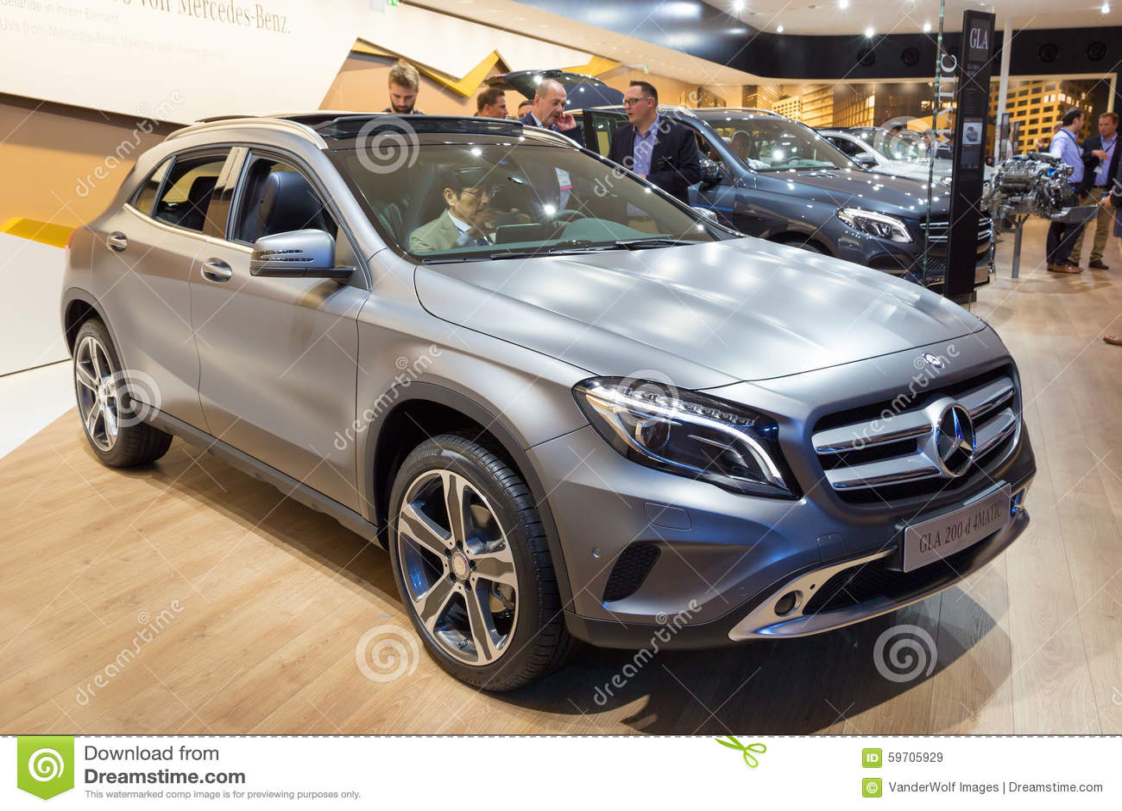 Mercedes Benz Gla 200d 4matic Editorial Stock Image Image 59705929
