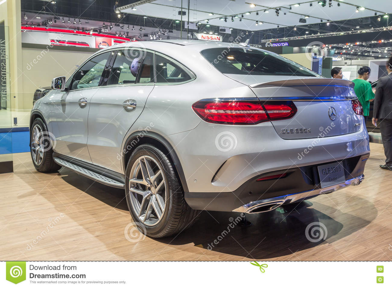 Mercedes benz gle 350d 4matic coupe showed in thailand the for Mercedes benz thailand