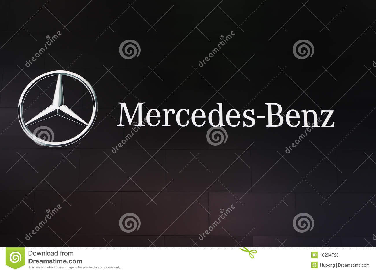 Mercedes benz logo editorial image image 16294720 for Mercedes benz stock symbol
