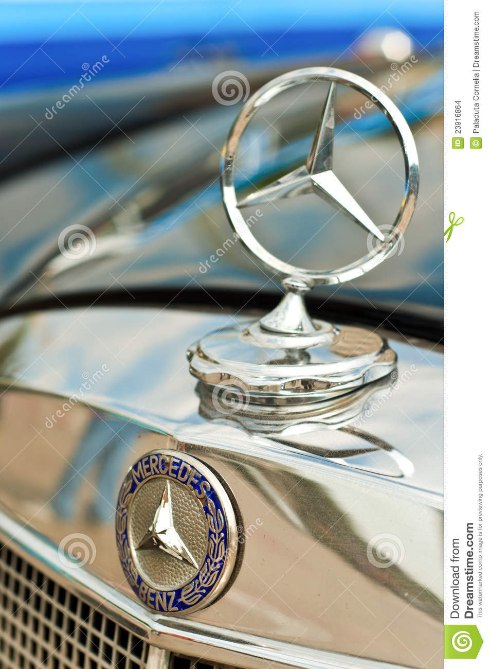 Mercedes Benz Logo Editorial Stock Image Image Of Closeups 23916864