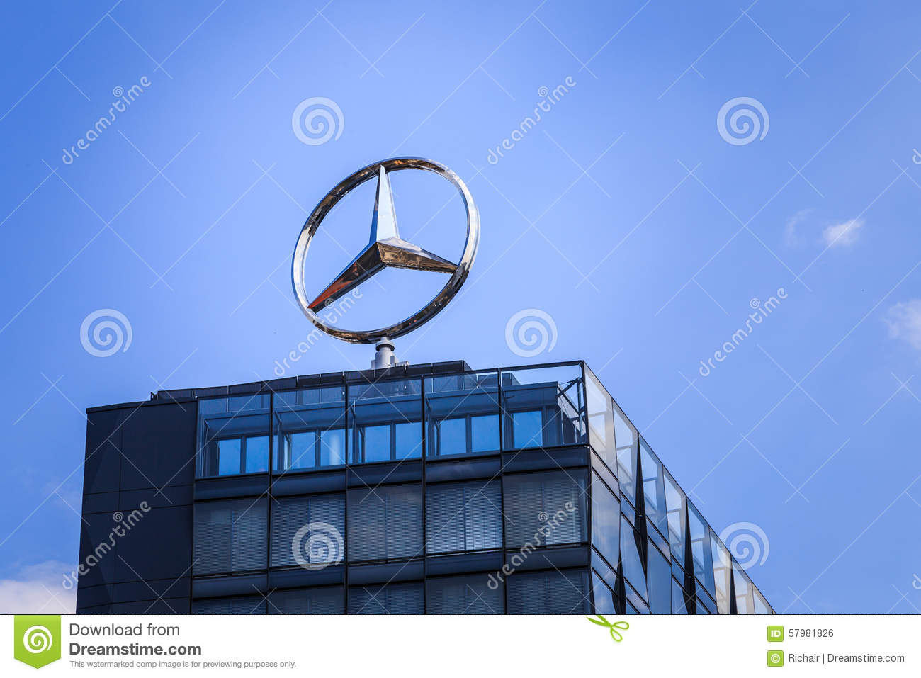 Mercedes benz editorial image 18309358 for Top mercedes benz dealerships