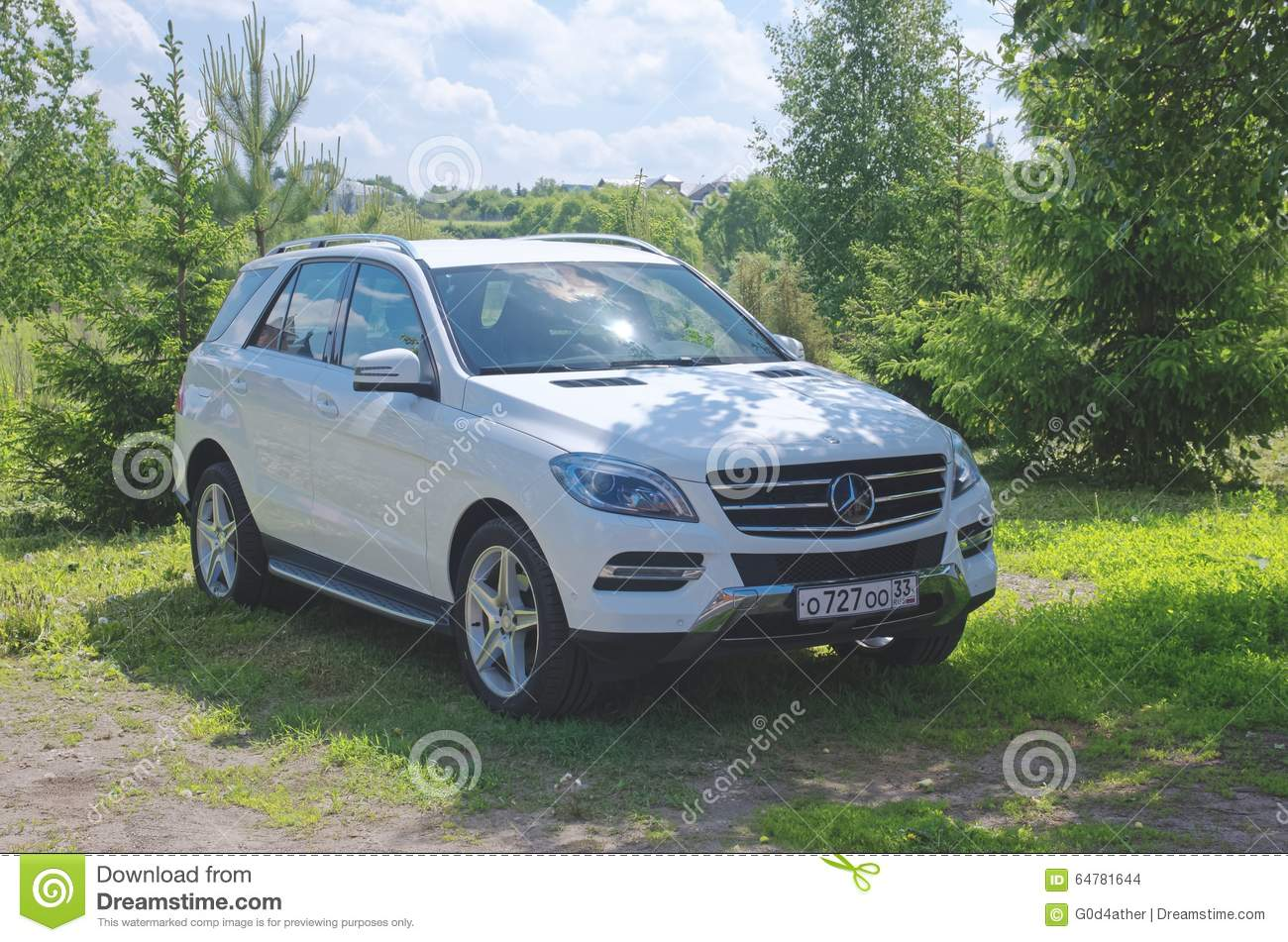 Mercedes benz ml editorial stock image image 64781644 for Mercedes benz stock