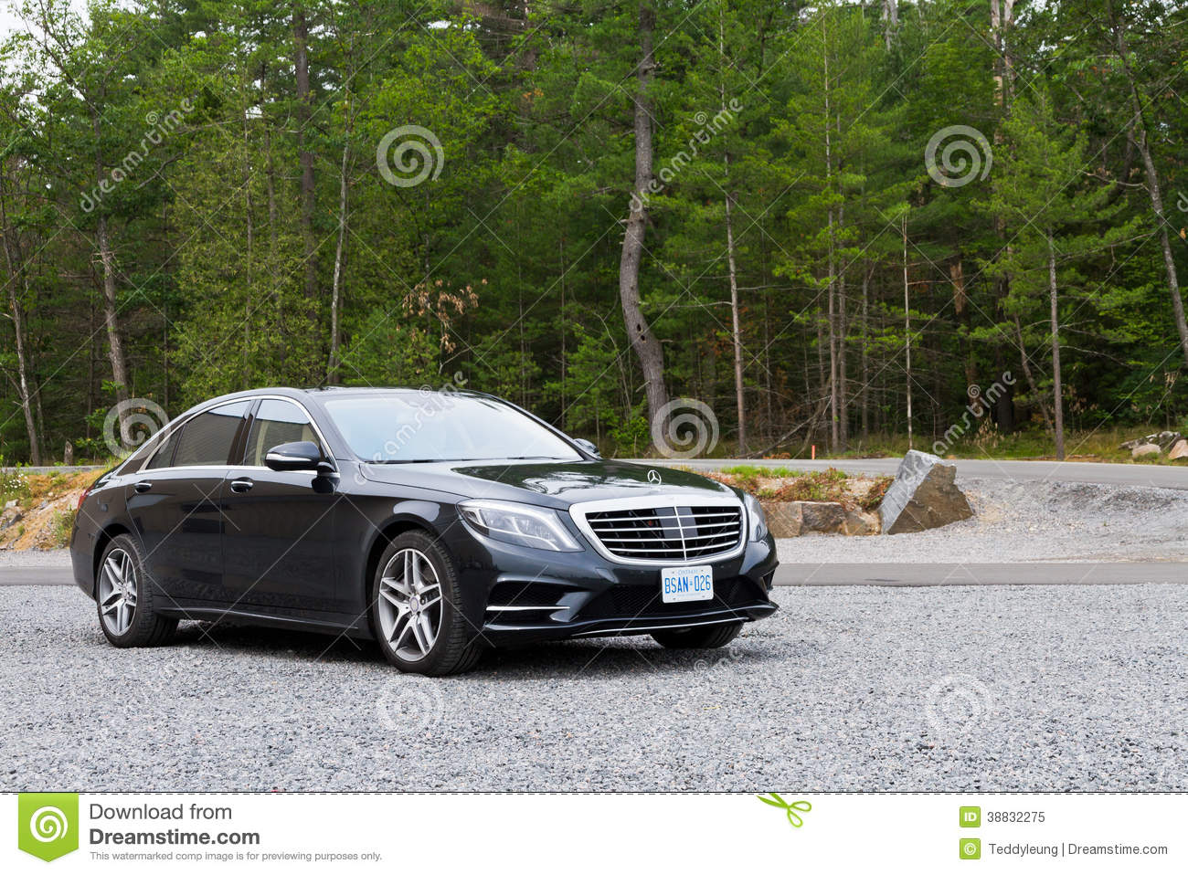mercedes benz s class 2013 the top model sedan editorial