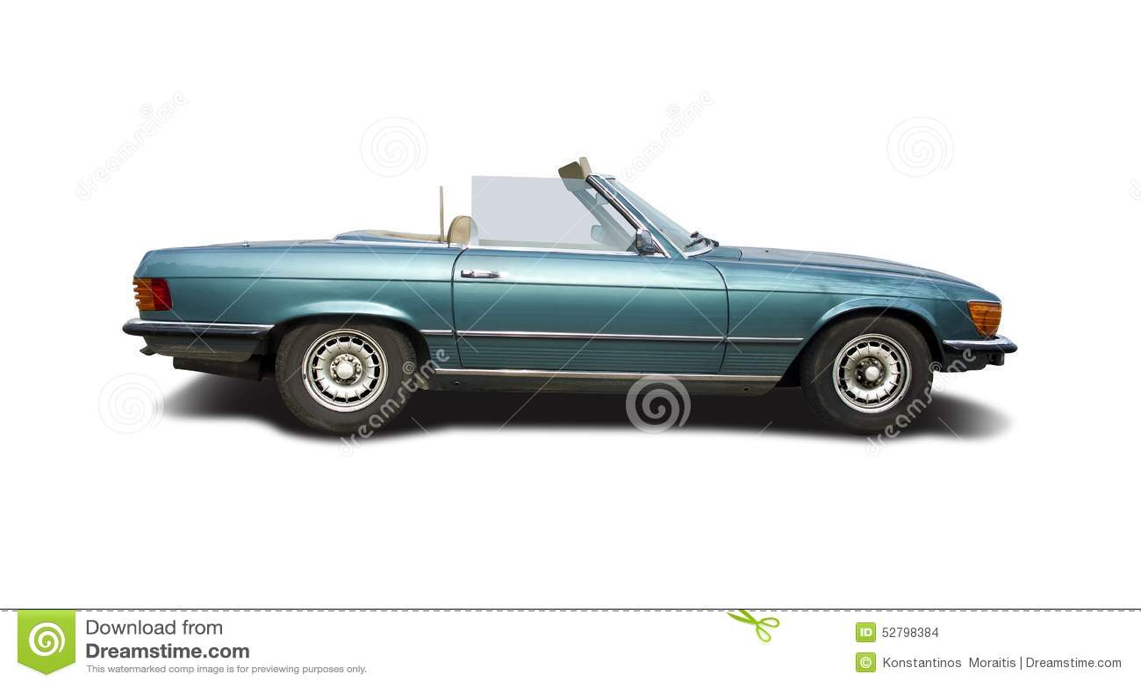 mercedes benz 280 sl cabrio stock photo image of power sport 52798384. Black Bedroom Furniture Sets. Home Design Ideas