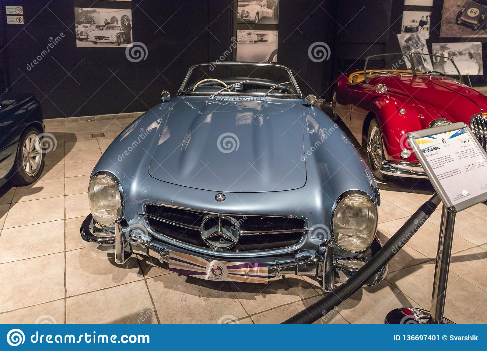 mercedes benz 300sl roadster 1957 at the exhibition in the king abdullah ii car museum in amman the capital of jordan editorial photo image of building cityscape 136697401 https www dreamstime com mercedes benz sl roadster exhibition king abdullah ii car museum amman capital jordan amman jordan image136697401