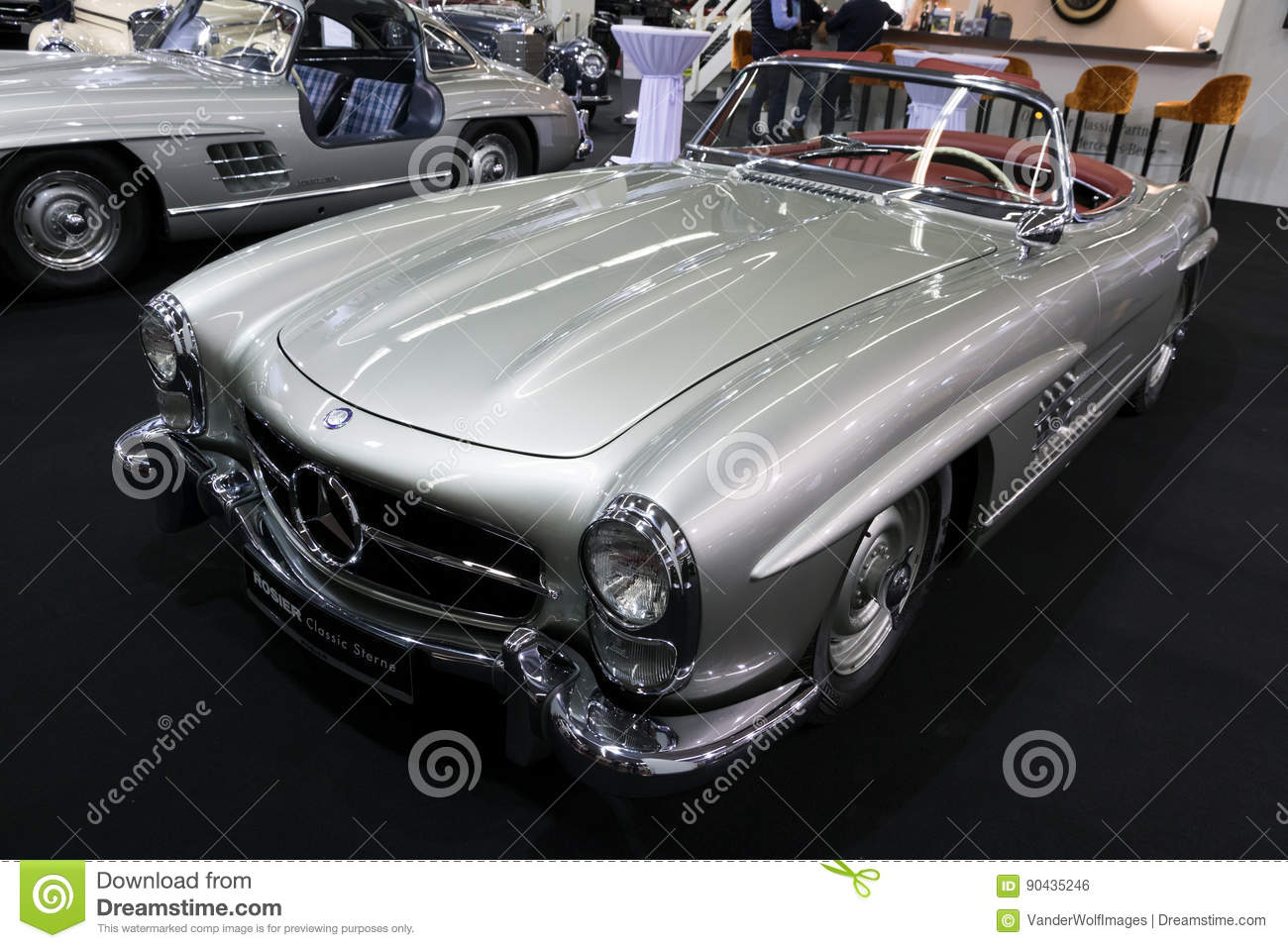 1957 mercedes benz 300 sl roadster w198 vintage car - Mercedes car show ...