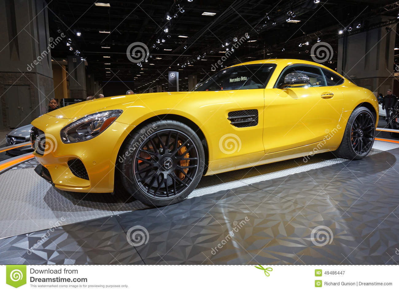 Mercedes Benz Sports Car Editorial Photography. Image Of