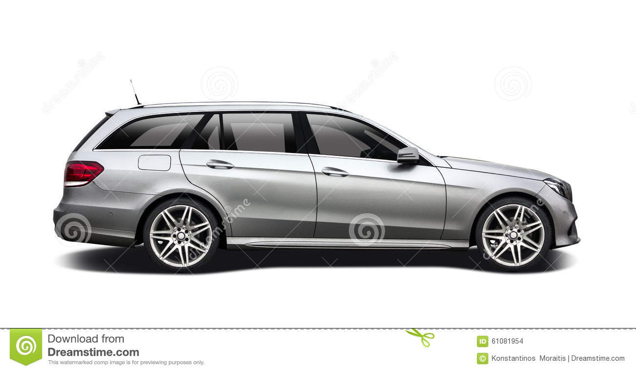Mercedes Benz Station Wagon Stock Photo Image Of
