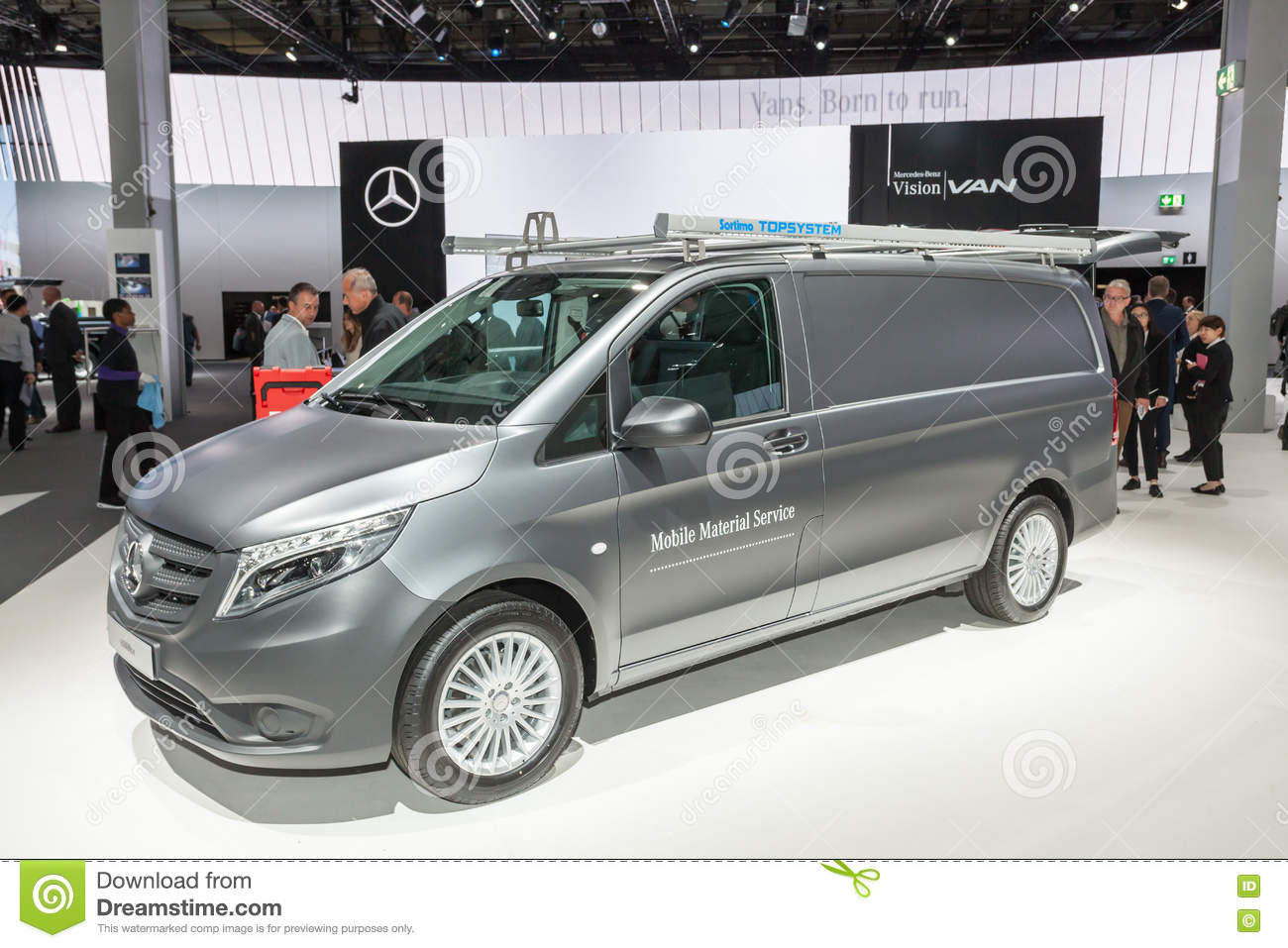 1ee4746699 Mercedes Benz Vito editorial stock photo. Image of fair - 77974493