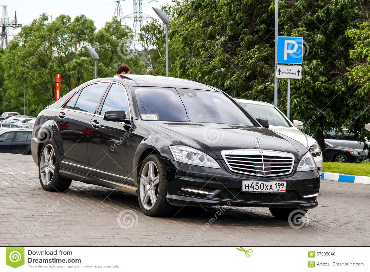 Mercedes Benz W221 S Class Editorial Photo Image 57895046
