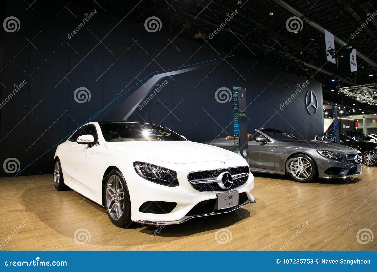 Mercedes On Display In Bangkok International Motor Show ...