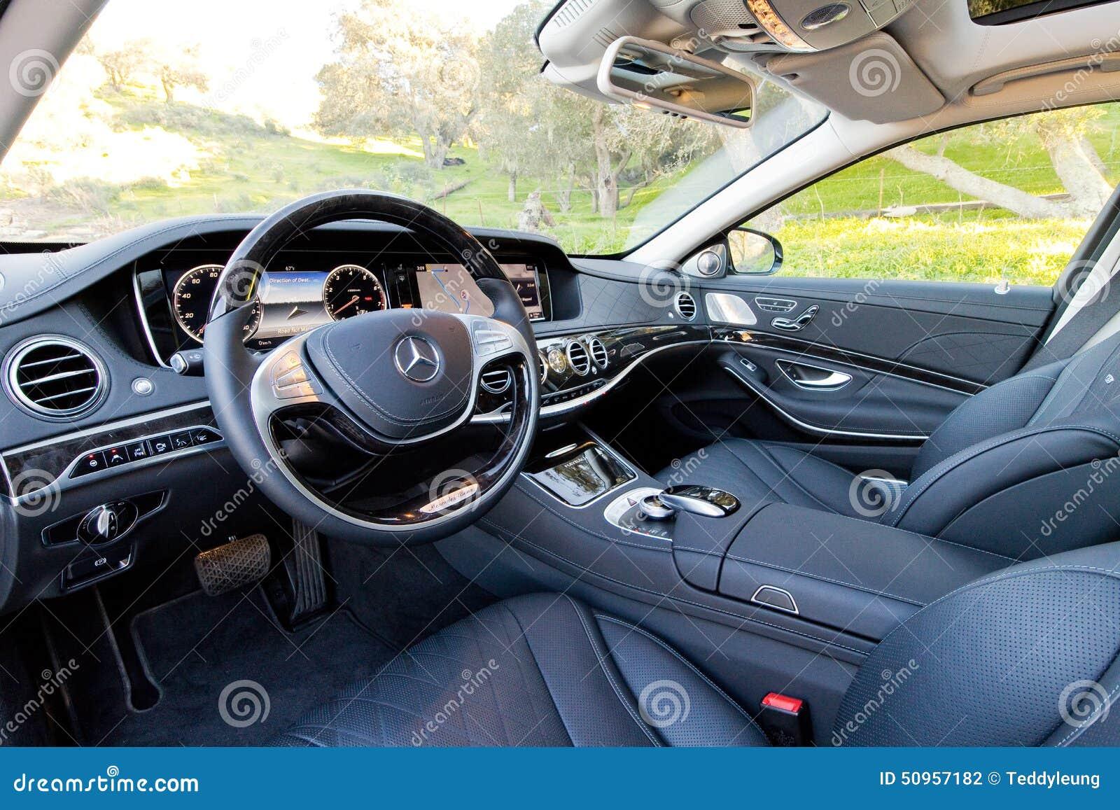 mercedes maybach s 600 2015 interior editorial photography - Mercedes Maybach Interior