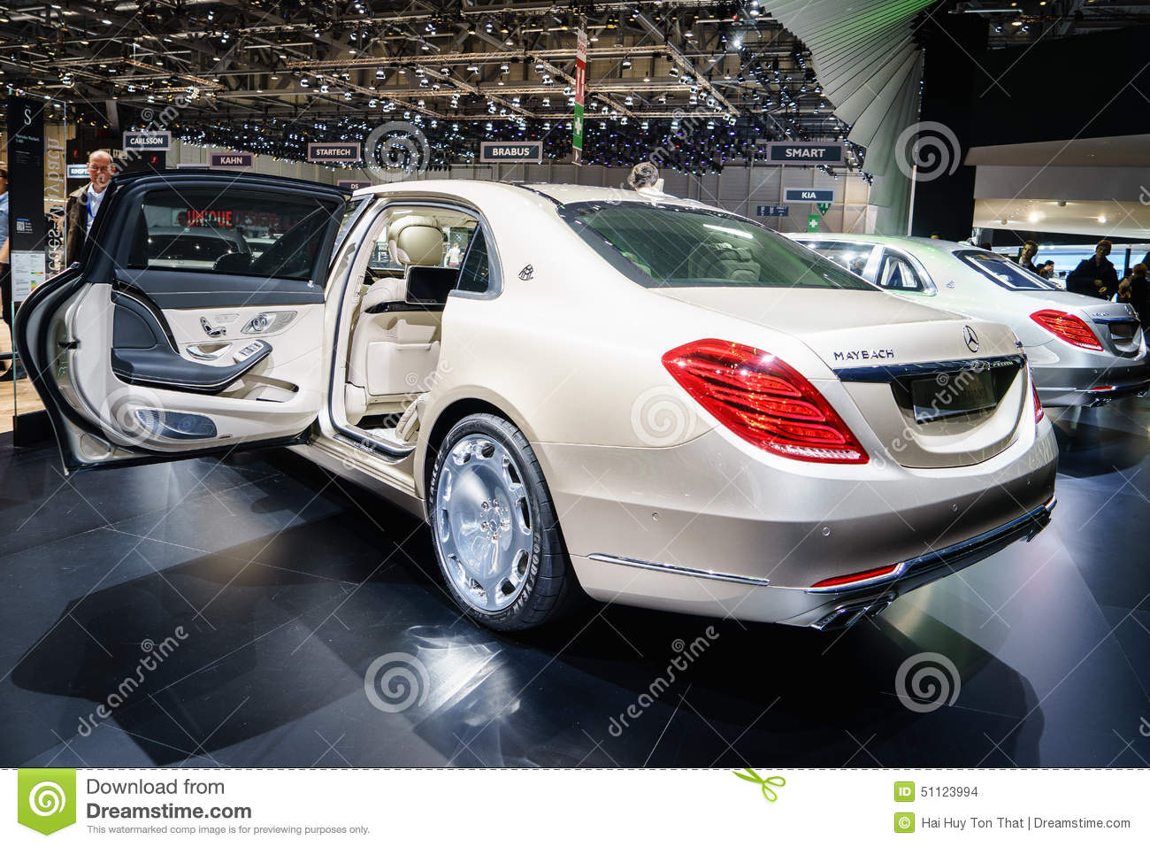 Mercedes Maybach S600 Motor Show Geneve 2015 Editorial