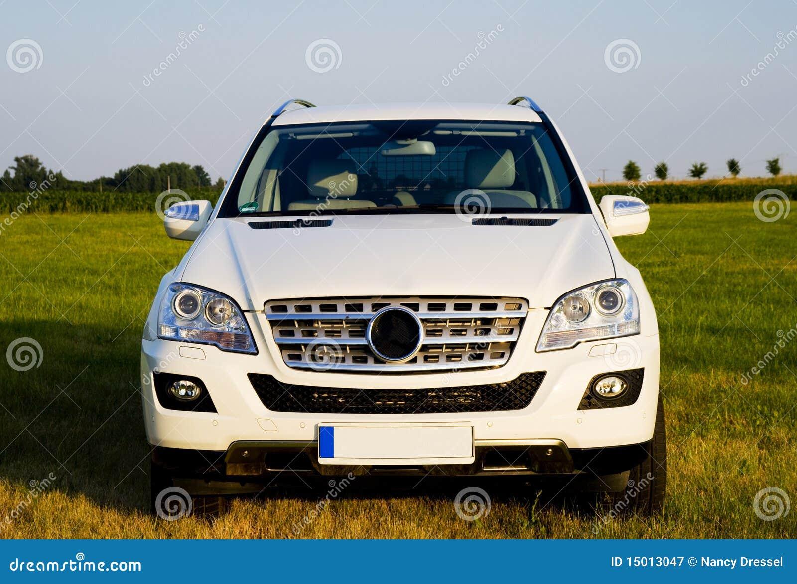 Mercedes ML do frontside