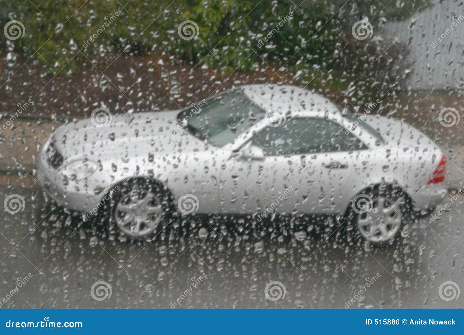 Mercedes rain slk under