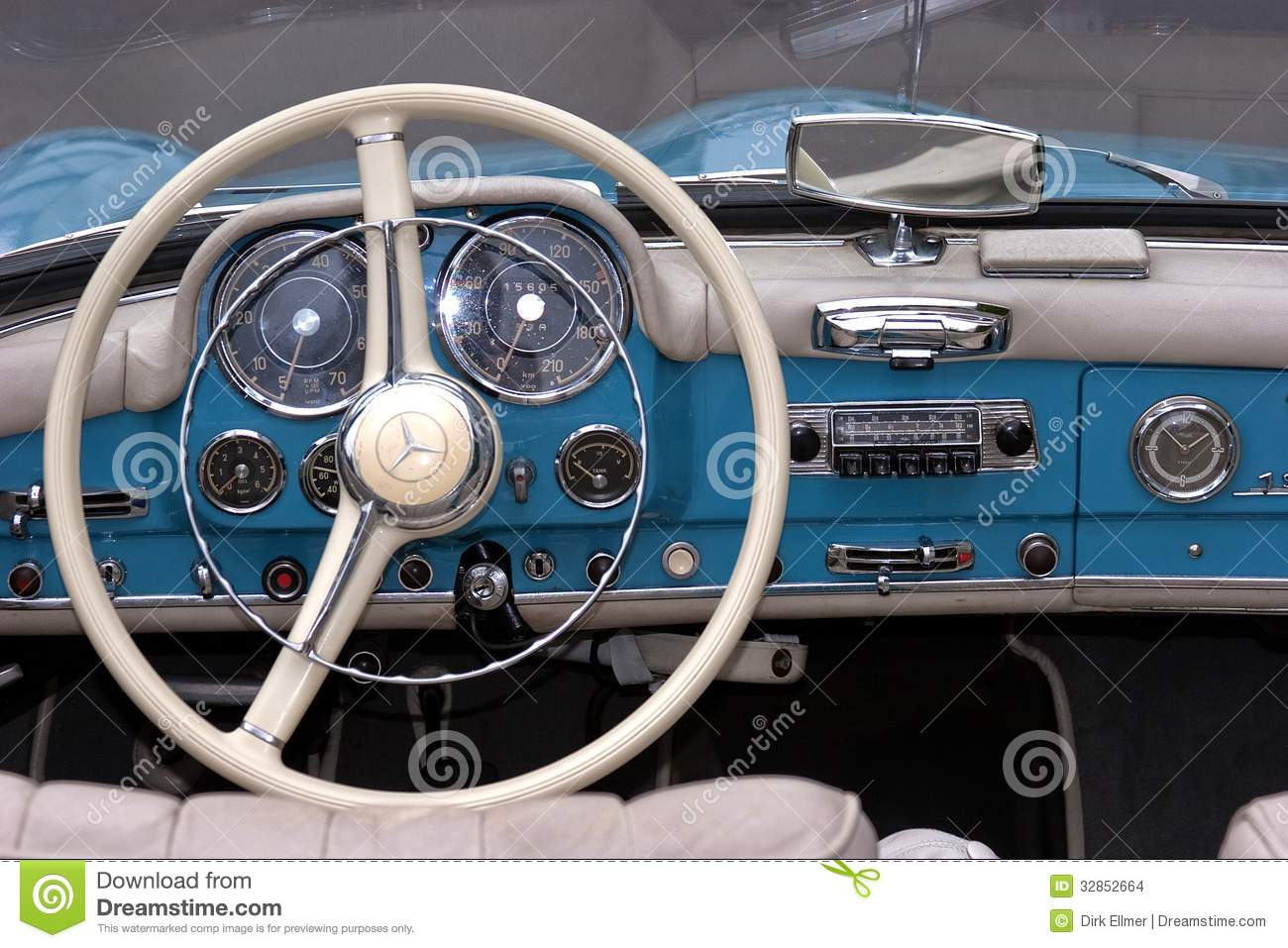 Mercedes 190 sl old timer editorial stock image image for Interieur mercedes 190