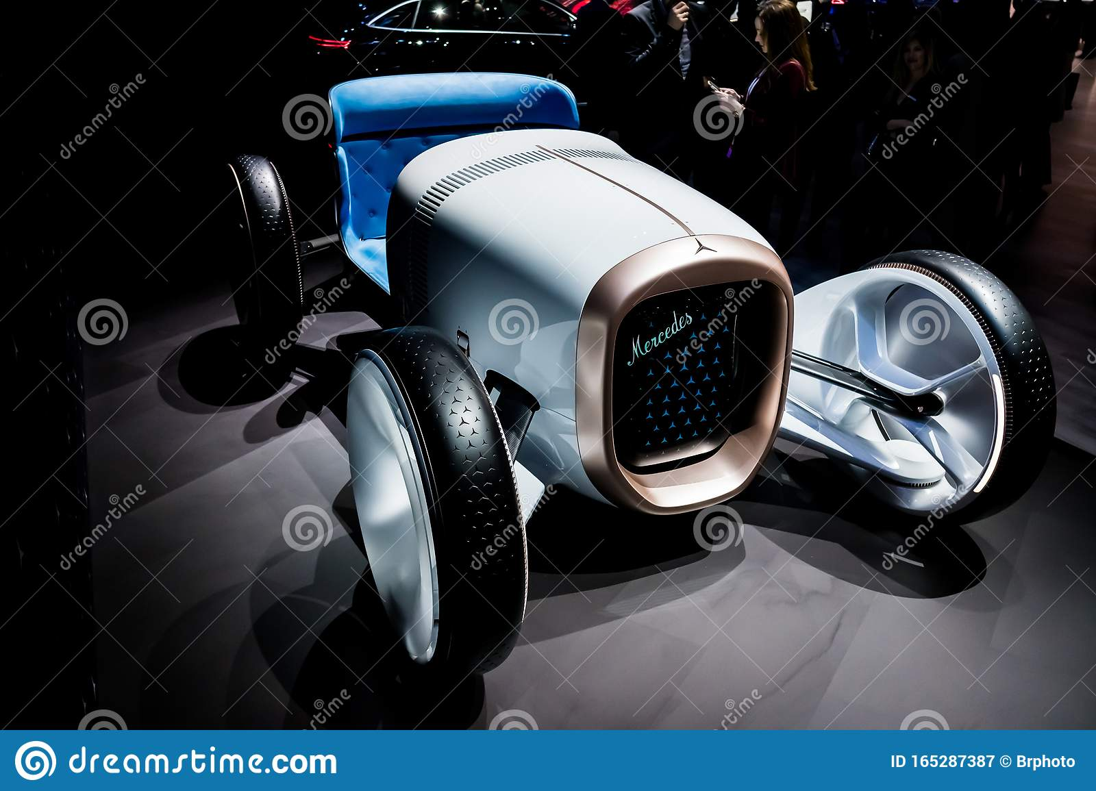 mercedes vision simplex 35 ps concept on display during los angeles auto show editorial photography image of automobile metal 165287387 dreamstime com