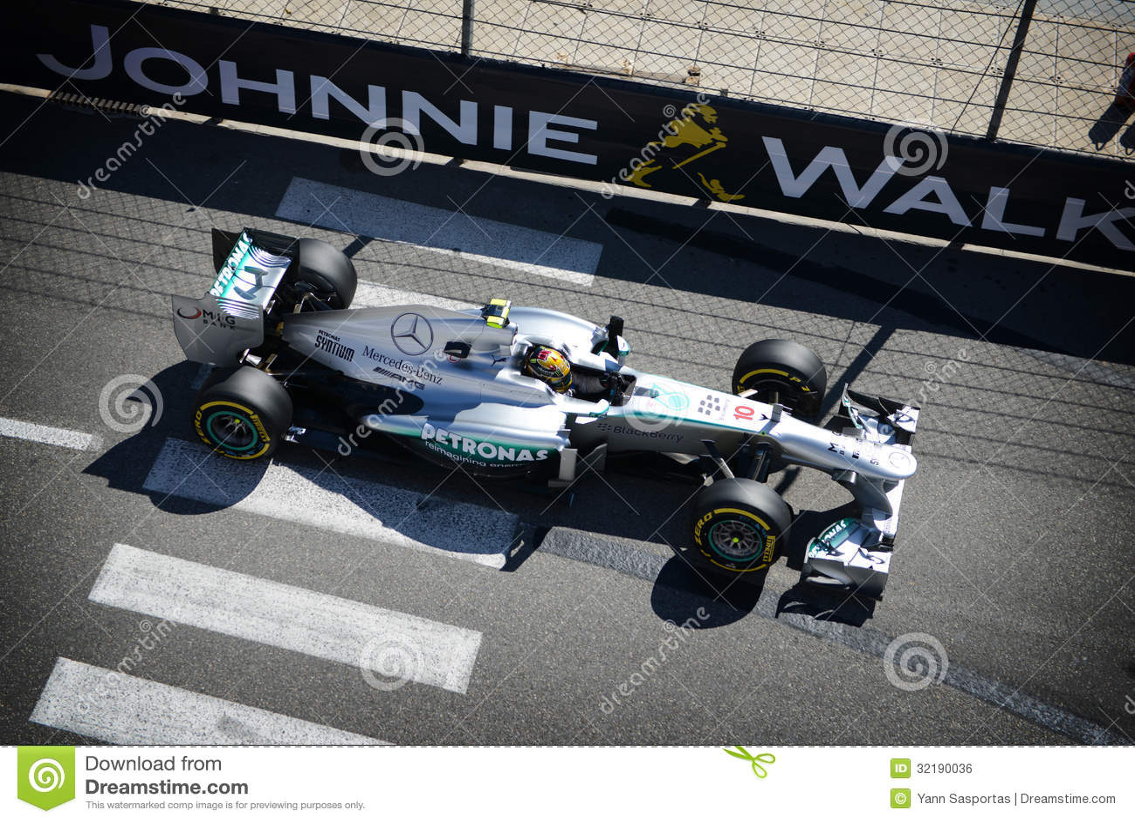 Mercedez AMG Lewis Hamilton