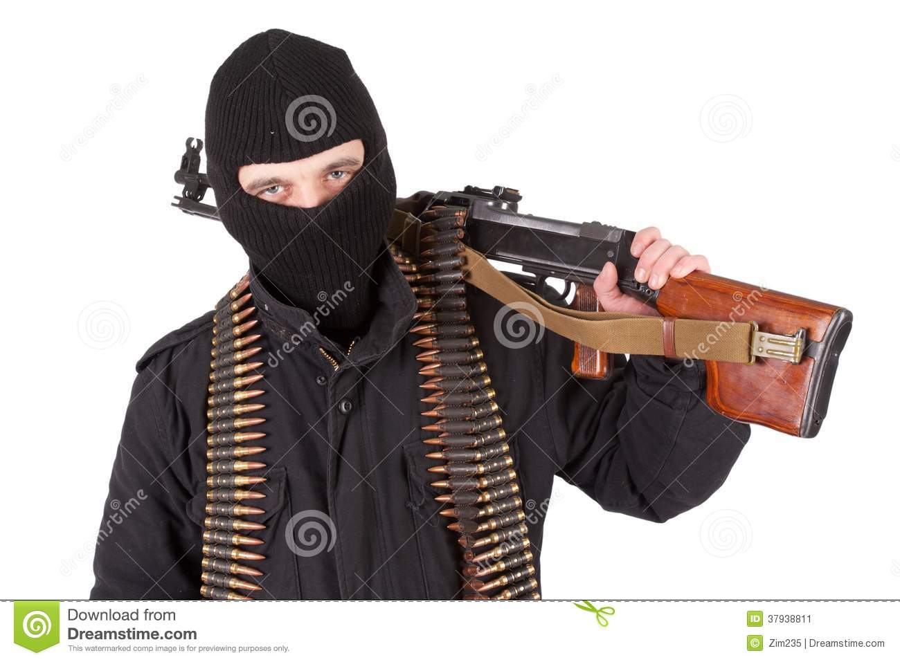 Mercenary - Soldier Of Fortune Stock Image - Image: 37938811
