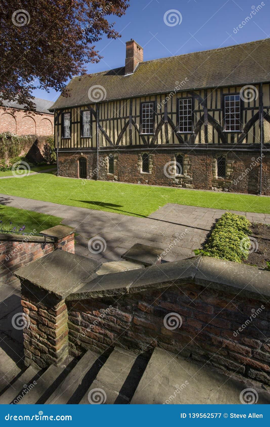 The Merchant Adventurers Guild Hall in York - England