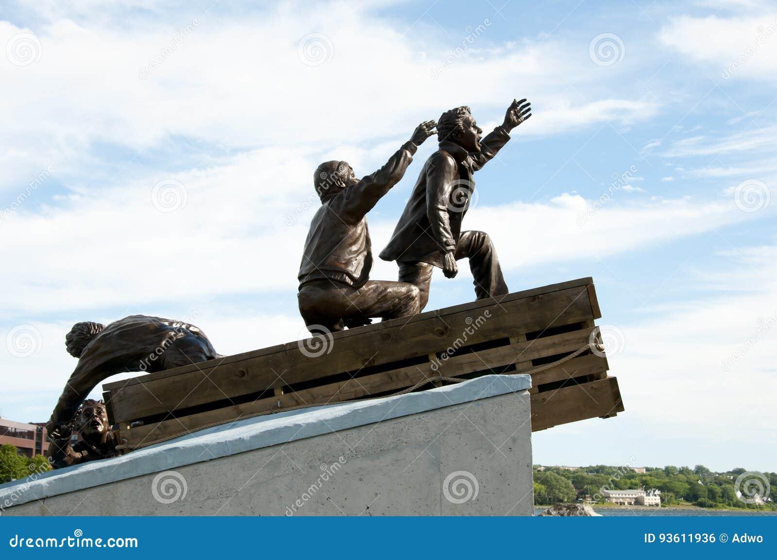 Merchant Mariner Public Monument - Sydney - Nova Scotia