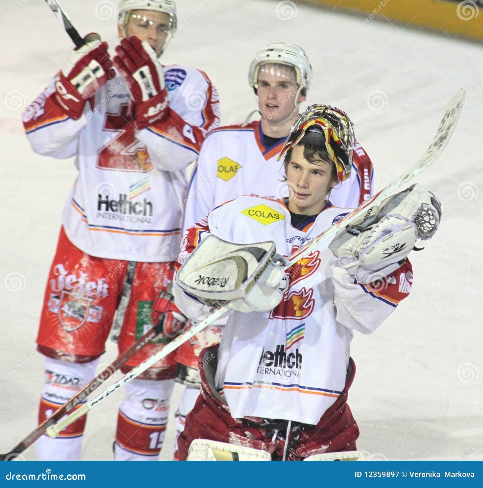 MERCI - allumette de hockey sur glace