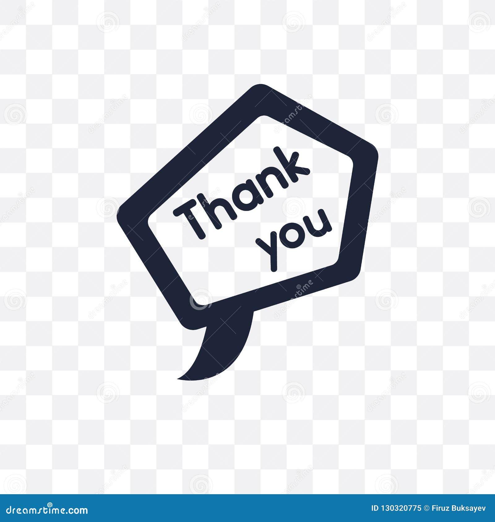 Merci icône transparente Merci conception de symbole d unir