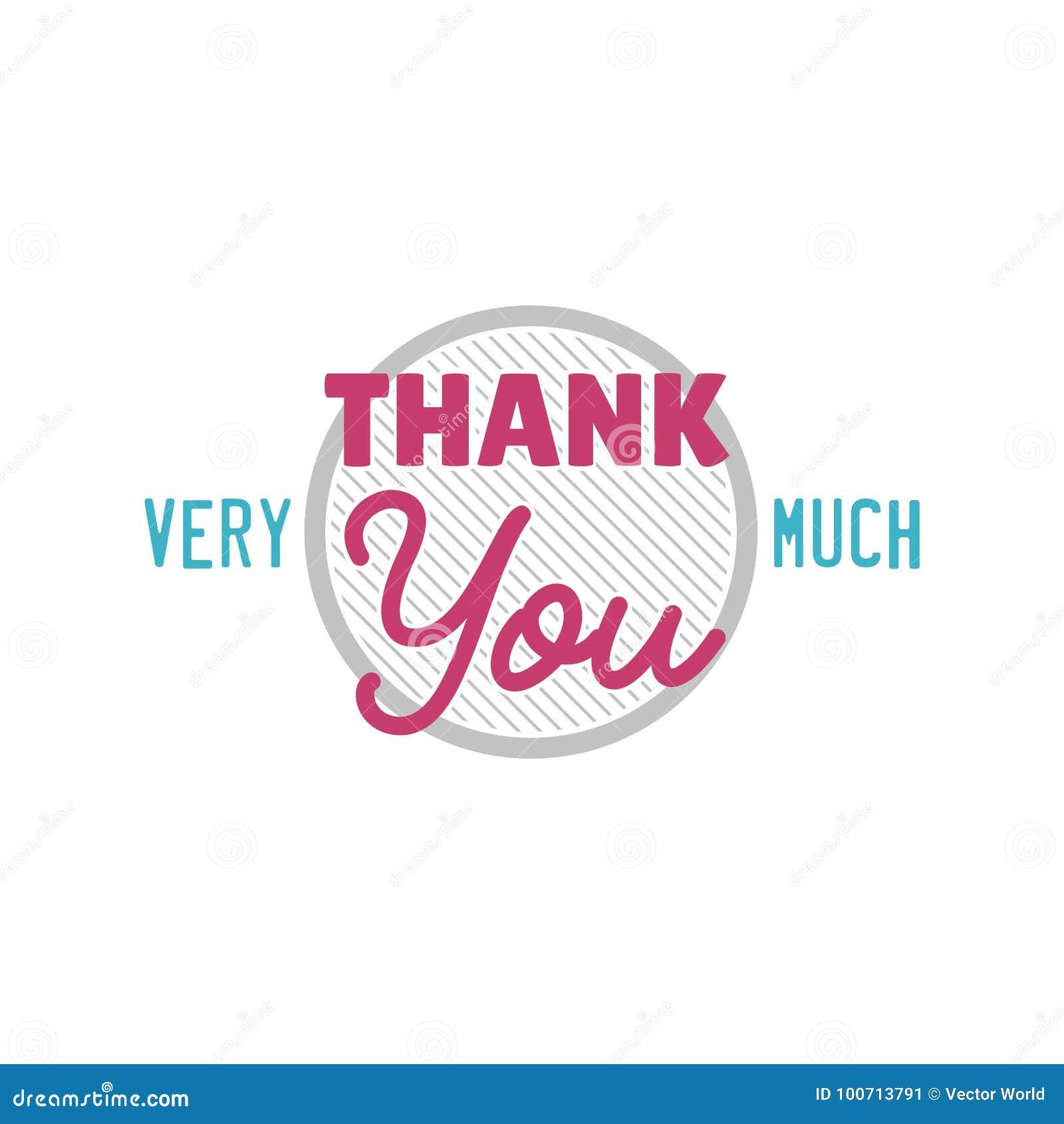 Merci Message D Expressions De Citation De Thanksfull D