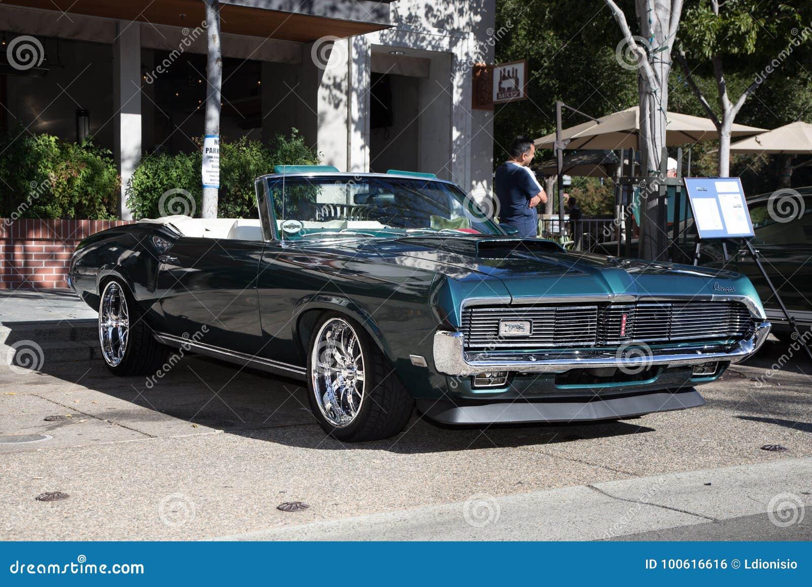 Mercury Cougar XR Editorial Photo Image Of California - Livermore car show