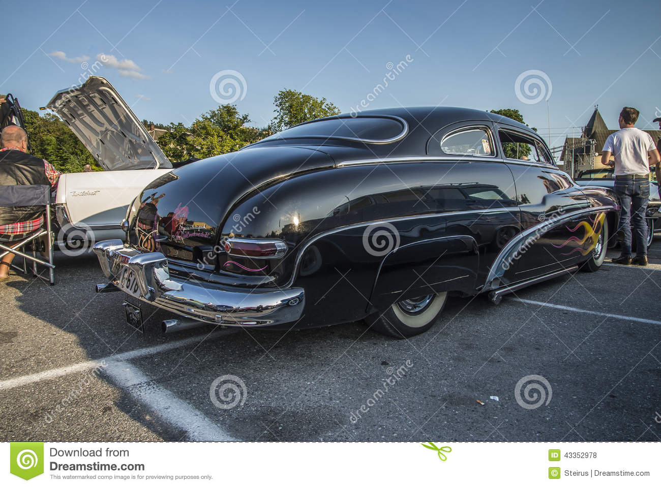 1950 Mercury Custom editorial stock photo. Image of luxury - 43352978