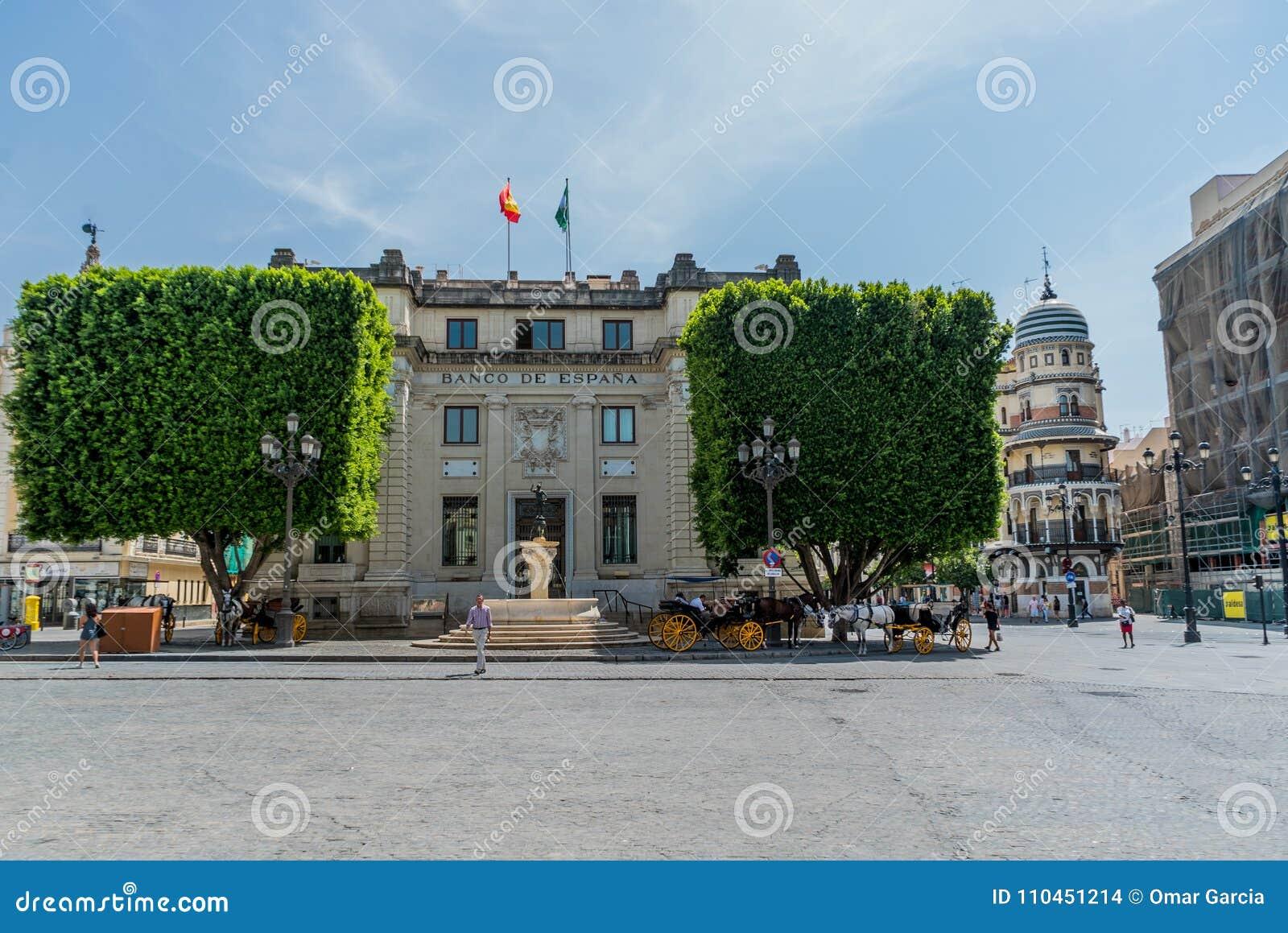 Mercury Fountain Sculpture Seville Spain
