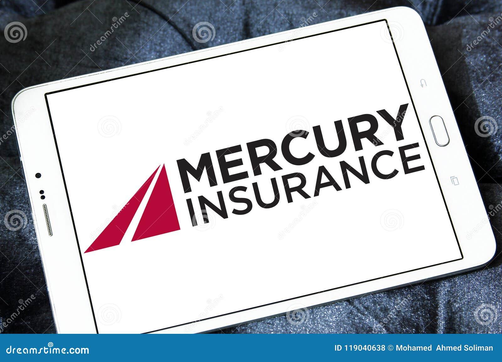 Mercury Insurance Group Logo Editorial Stock Photo - Image ...