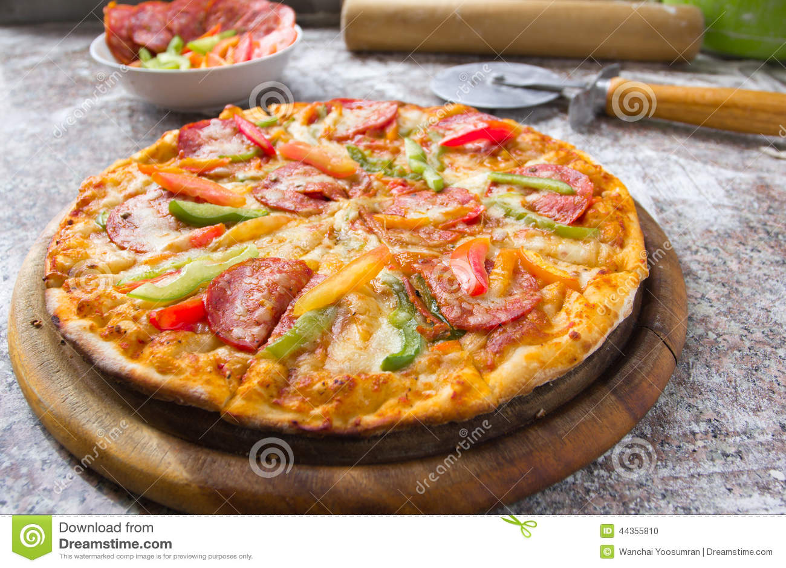 Merguez della pizza