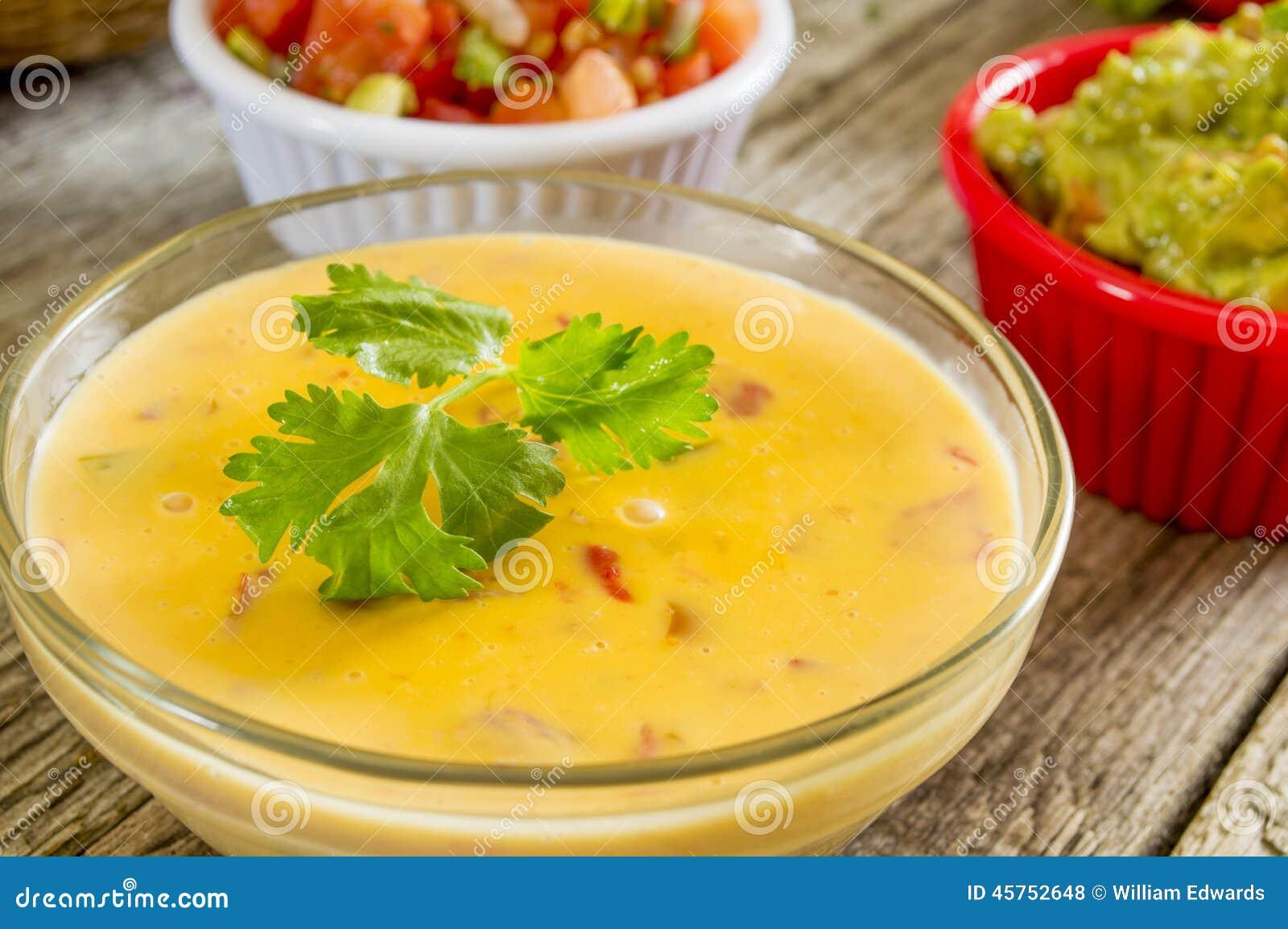 Mergulho de queijo de Spisy